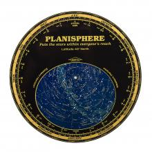 Planisphere logo, like space.