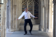duke research computing director dances on campus